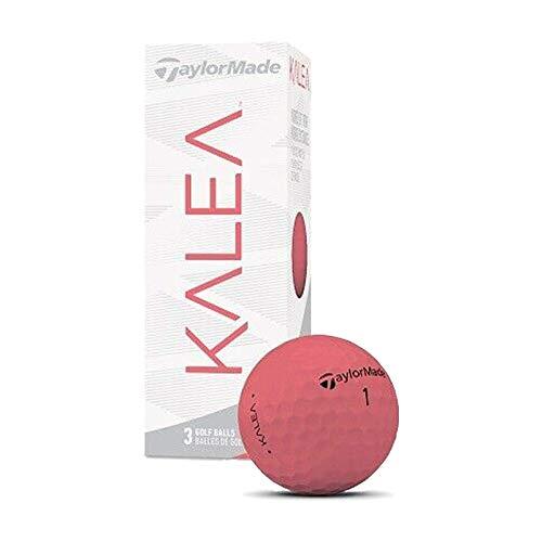 TaylorMade Mujer Kalea Pelotas de Golf - 3 Bola Paquete - Melocotón