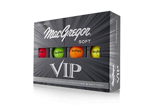 MacGregor Golf MACACC004M VIP - Pelotas de Golf (12 Unidades)