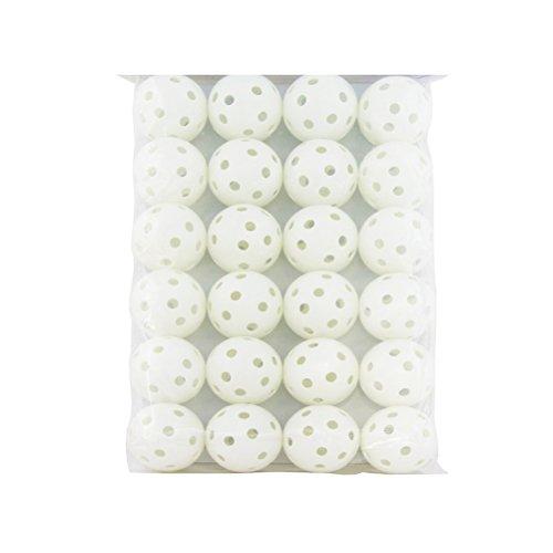Leorx - Bolas de golf huecas para golf (24 unidades)