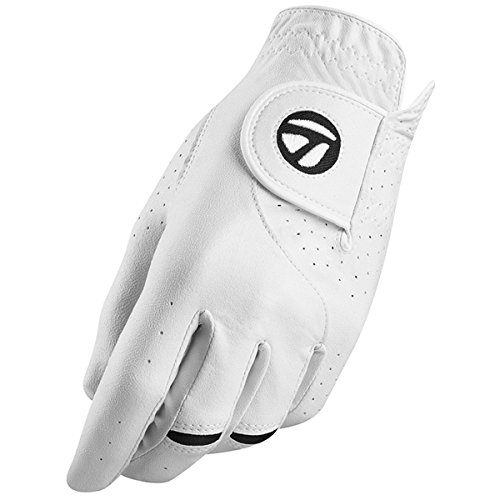 TaylorMade - Stratus Tech - Guantes de Golf, para Hombre, 2 Unidades, Stratus Tech 2 Pack, Hombre, Color Blanco, tamaño Small