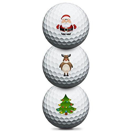 Titleist Pro V1 Christmas Golfbälle - 3er Pack