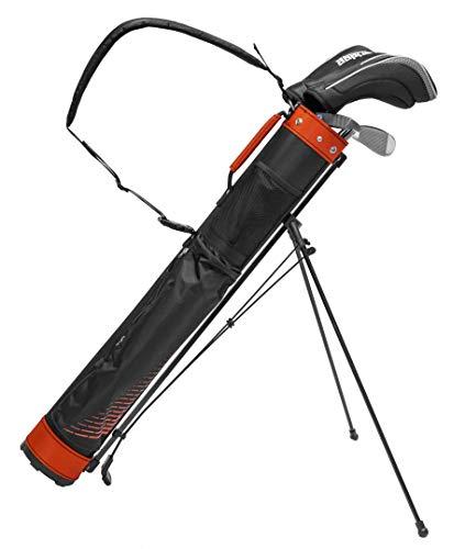 Longridge Ultra Light - Bolsa de Golf (5 Pulgadas), Color Negro y Rojo