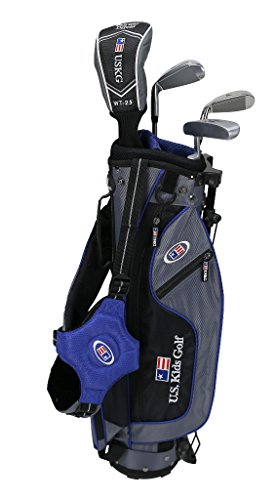 US kids Golf UL 45 Set Bolsa de Palos, Unisex niños, Azul, 5 a 7 años