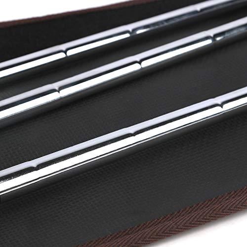 TOURBON Bolsa de lona ligera para palos de golf con correa para el hombro