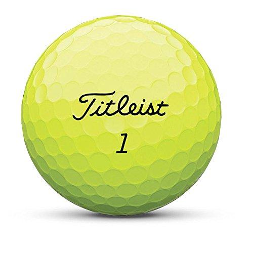 Titleist AVX Bola de Golf, Hombres, Amarillo, Talla Única