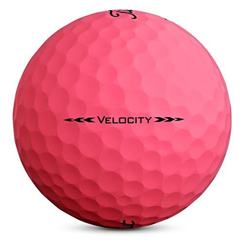 Titleist - Velocity - Pelotas de golf - T8325S, Rosado