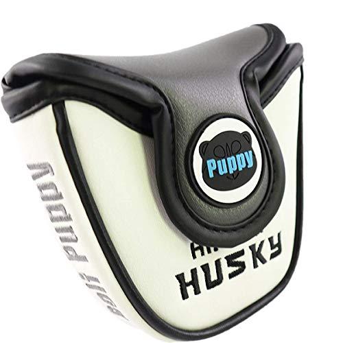 Lychee Lindo Husky Fundas para Cabezas de Golf para Palo de Golf y Palo de Golf, de Madera, Impermeables, universales, para Conductor, Fairway Woods Hybrid Utility (Mallet Putter Cover)