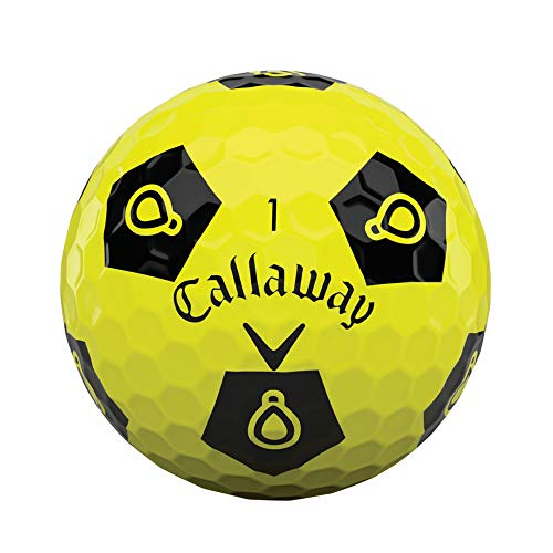Callaway 2020 - Pelotas de golf (cromo suave, juego Truvis)