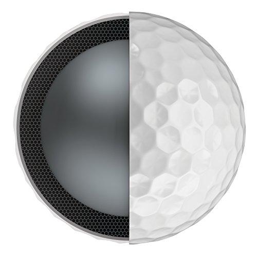 Callaway CG BL Chrome Soft X 18 Bolas de Golf, Blanco, Única