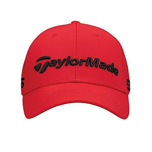 Taylor Made Gorra Tour Radar Hombre Rojo, Talla Única