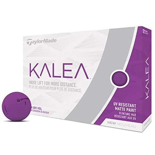 TaylorMade Kalea - Pelotas de golf (una docena) - M7160001, Large, Púrpura