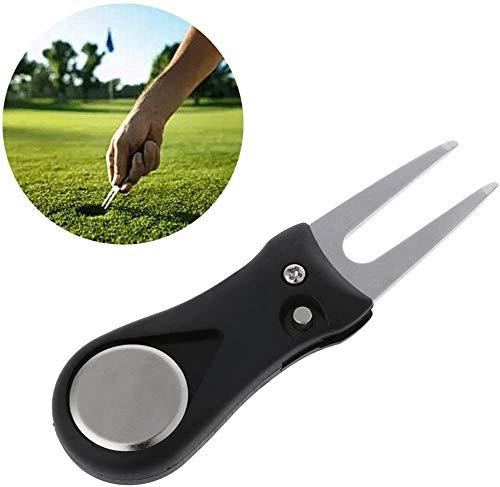 Fiyuer arreglapiques Golf 3 Pcs Tenedor Horquilla Marcadores de Golf Herramienta de Reparación Resistente y Estable Gran Accesorio Adecuado para Amantes del Golf