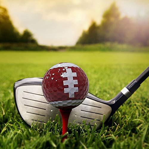 Skystuff - Bolas de golf para golf (6 unidades), diseño de pelotas de golf