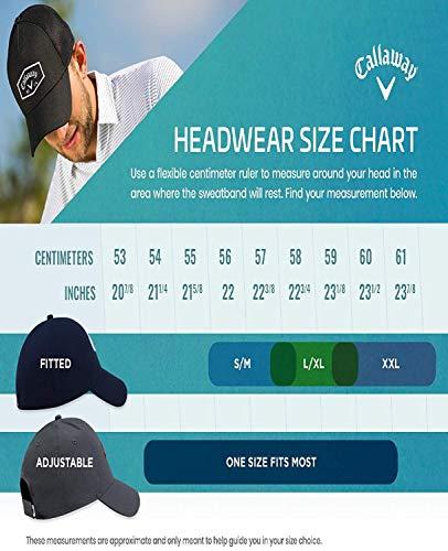Callaway Stitch Magnet - Gorra de béisbol para Hombre, Azul Royal, Talla Única
