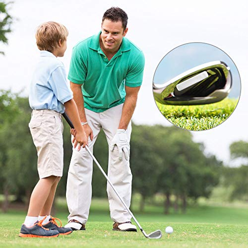 LYTIVAGEN 12 PCS Plomo de Golf, Tiras Adhesivas de Golf Agregar Peso Cinta de Plomo para Raqueta de Tenis y Club de Golf (5 * 1 cm)