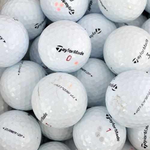 Second Chance Taylormade - Lote de 100 Pelotas de Golf (Grado A, recuperadas)