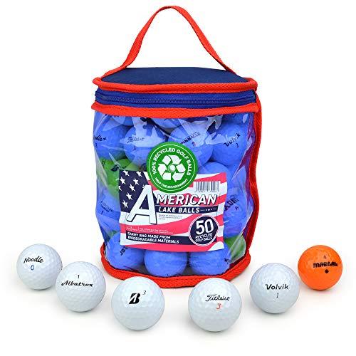 Second Chance 50-B-Bag - Set de 50 Bolas de Golf recuperadas de Lagos