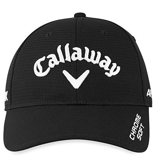 Callaway 5220162 Hombre CG HW Tour Gorra de Golf Profesional, Talla única, Negro