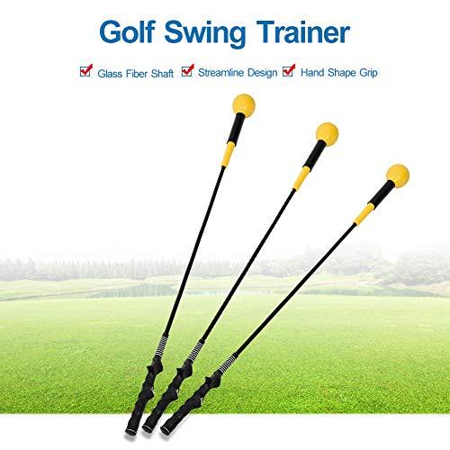 VGBEY Palo para Entrenamiento de Swing de Golf, Entrenador de Swing de Golf, Golf Club Swing Training Aid Herramienta de práctica de la Pelota de Golf Accesorio en el Campo de Golf