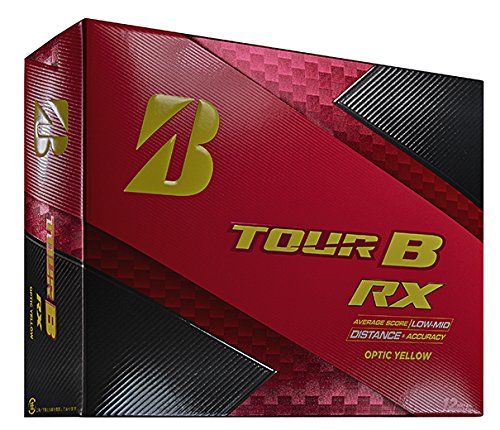 Pelotas de golf Bridgestone Golf Tour B RX, 760778083048, amarillo