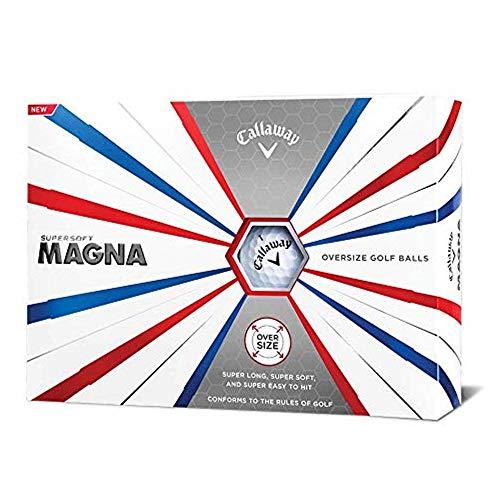 Callaway 642655612 Bola de Golf, Hombres, Blanco, Talla Única
