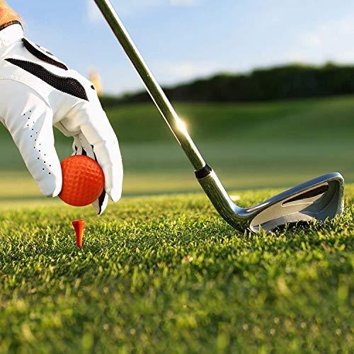 Kofull - Pelotas de golf de espuma de poliuretano para practicar deportes al aire libre, para entrenamiento, mezclado