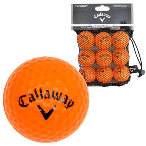 Callaway - Bolas de prácticas para Golf, Color Negro