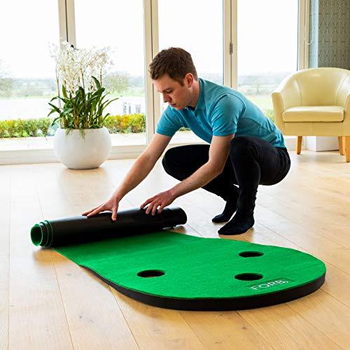 FORB Alfombra de Putting de Golf en Casa – 3m/3,7m [Net World Sports] (3m)