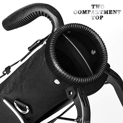 Champkey Bolsa de golf ligera, fácil de transportar y duradera, bolsa de golf de campo – Bolsa de dominio de golf ideal para campos de golf y viajes