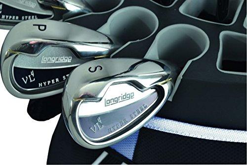 LONGRIDGE EZE Kaddy Pro - Bolsa para Equipamiento de Golf Azul Azul y Negro