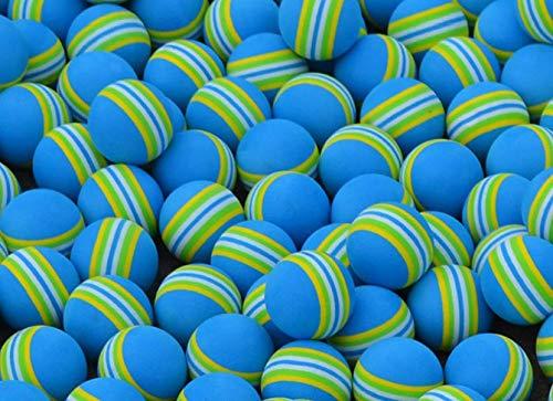 LYNKO 20pcs Sponge Golf Ball Golf Training Soft Balls Practice Ball