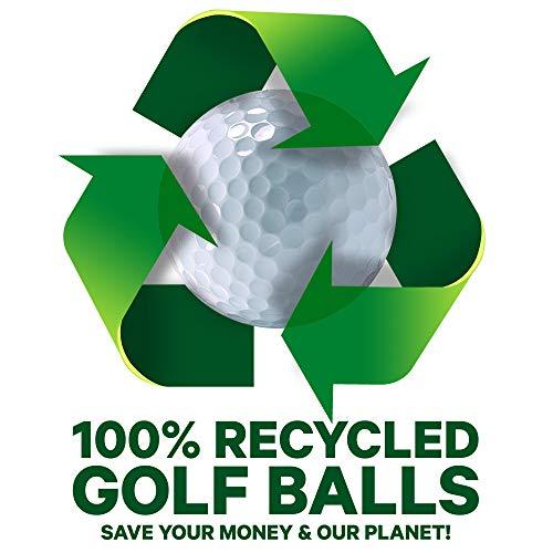 Pinnacle VAL-100-BOX-PIN - Bolas de golf reciclada categoría A , blanco, Lote de 100